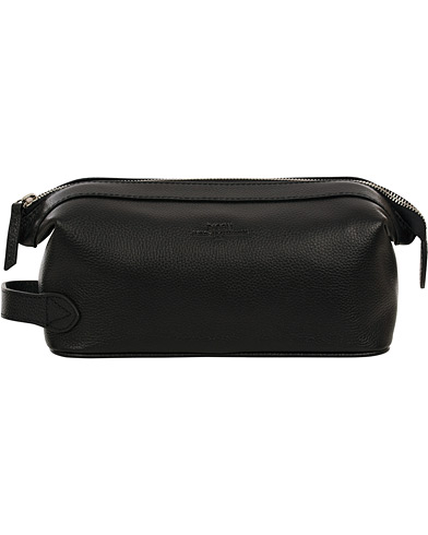 Baron Toilet Bag Black Leather  i gruppen Vesker / Toalettmapper hos Care of Carl (11580910)