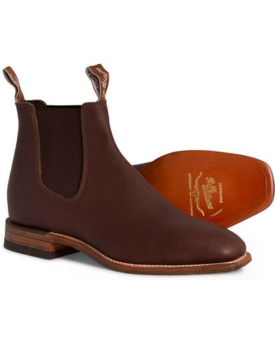 R.M.Williams Craftsman G Boot Vesta Z-Sole Brown i gruppen Sko / Støvler / Chelsea boots hos Care of Carl (11583211r)