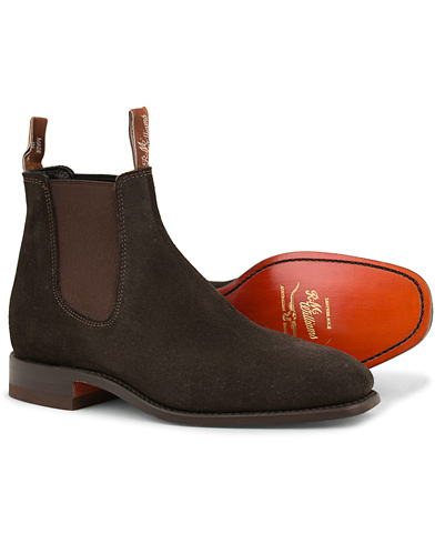 R.M.Williams Craftsman G Boot Suede Chocolate i gruppen Skor / Kängor hos Care of Carl (11583311r)