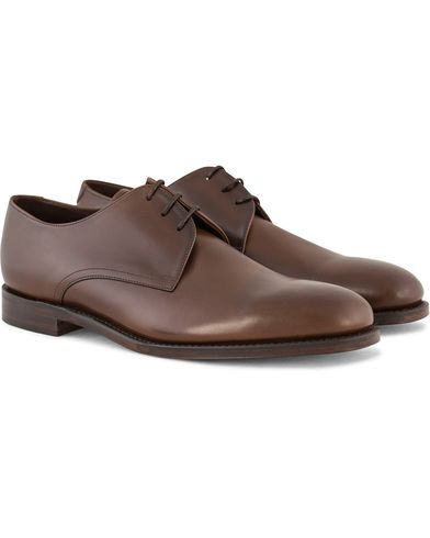 Loake 1880 Downing Derby Dark Brown Calf i gruppen Skor / Derbys hos Care of Carl (11613611r)