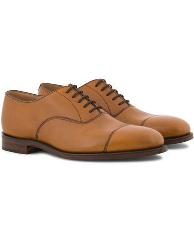 Loake 1880 Aldwych Oxford Tan Burnished Calf i gruppen Skor / Oxfords hos Care of Carl (11615811r)