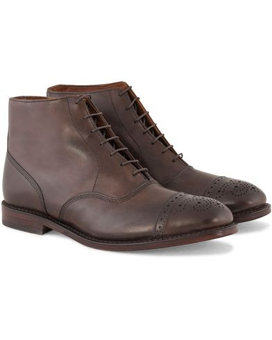 Allen Edmonds Fifth Street Boot Brown Burnished Calf i gruppen Skor / Kängor / Snörkängor hos Care of Carl (11616311r)
