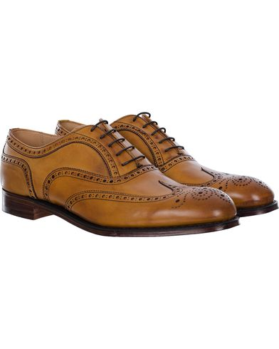 Cheaney Arthur III Brogue Chestnut Calf i gruppen Sko / Brogues hos Care of Carl (11624011r)