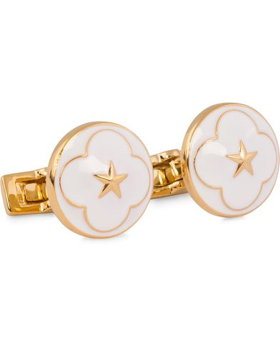 Skultuna Cuff Links Polar Star White  i gruppen Assesoarer / Mansjettknapper hos Care of Carl (11629910)