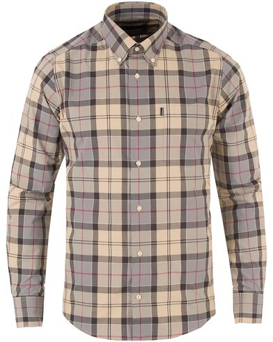 Barbour Lifestyle Herbert Tailored Fit Shirt Dress Tartan i gruppen Klær / Skjorter / Casual skjorter hos Care of Carl (11714311r)