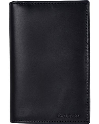 Paul Smith Multistripe Credit Card Wallet  Black  i gruppen Design A / Tilbehør / Punge / Almindelige punge hos Care of Carl (11720910)