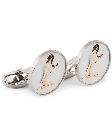 Paul Smith Naked Lady Cufflinks   i gruppen Assesoarer / Mansjettknapper hos Care of Carl (11721710)