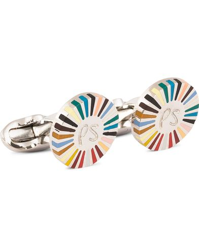Paul Smith Ray Cufflinks Multistripe  i gruppen Accessoarer / Manschettknappar hos Care of Carl (11722010)