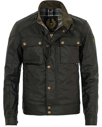 Belstaff Racemaster Jacket Black i gruppen Kläder / Jackor / Vaxade jackor hos Care of Carl (11723411r)