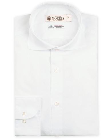 Morris Heritage Bond Cut Away Shirt White i gruppen Skjortor / Formella skjortor hos Care of Carl (11747811r)