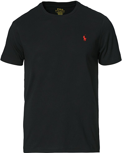 Polo Ralph Lauren Custom Fit Tee RL Black i gruppen T-Shirts / Kortærmede t-shirts hos Care of Carl (11766511r)