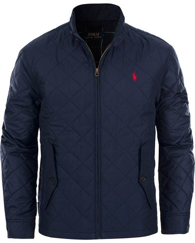 Polo Ralph Lauren Barracuda Quilted Jacket Aviator Navy i gruppen Kläder / Jackor / Quiltade jackor hos Care of Carl (11769611r)
