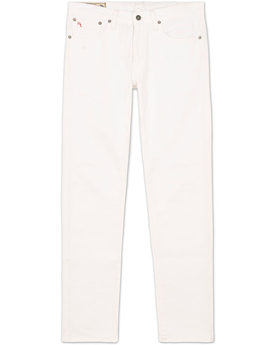 Polo Ralph Lauren Sullivan Slim Fit Jeans White i gruppen Jeans / Indsnævrende jeans hos Care of Carl (11773111r)
