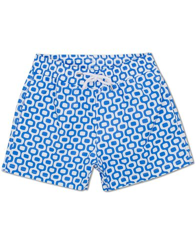 Frescobol Carioca Short Sport Swim Trunk Ipanema Blue i gruppen Kläder / Badbyxor hos Care of Carl (11790711r)