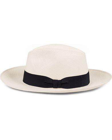Frescobol Carioca Panama Hat Navy Blue Ribbon i gruppen Accessoarer / Hattar hos Care of Carl (11791811r)