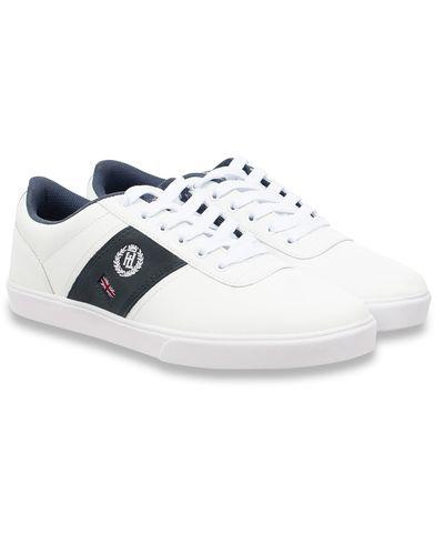 Henri Lloyd Bandrake Trainer Sneaker White/Navy i gruppen Skor / Sneakers / Låga sneakers hos Care of Carl (11822811r)