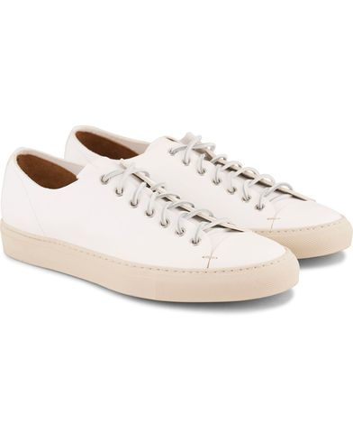 Buttero Sneaker White Calf i gruppen Skor / Sneakers / Låga sneakers hos Care of Carl (11942511r)