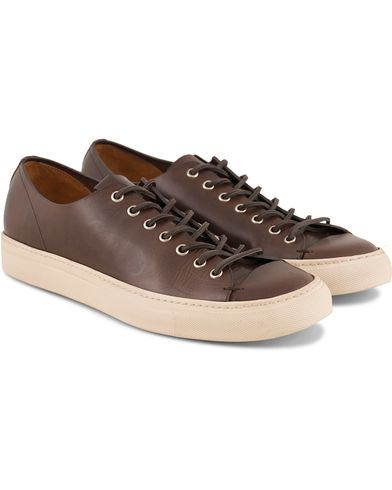Buttero Sneaker Dark Brown Calf i gruppen Sko / Sneakers / Sneakers med lavt skaft hos Care of Carl (11942711r)