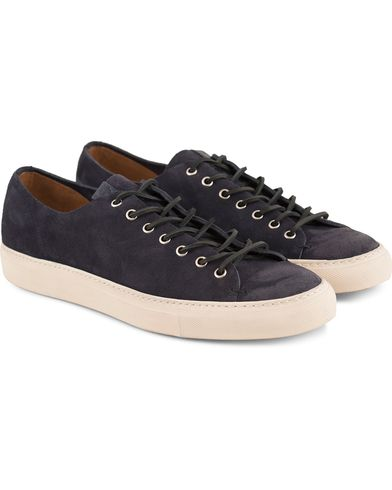 Buttero Sneaker Navy Suede i gruppen Design A / Sko / Sneakers / Sneakers med lavt skaft hos Care of Carl (11942811r)