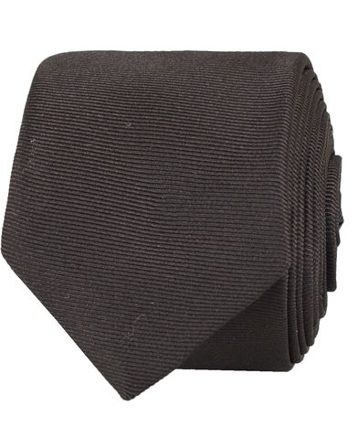 HUGO Tie 4,5 cm Black  i gruppen Assesoarer / Slips hos Care of Carl (11944910)