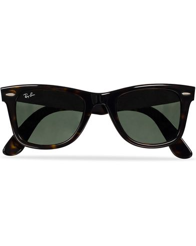 Ray-Ban Original Wayfarer Sunglasses Tortoise/Crystal Green  i gruppen Accessoarer hos Care of Carl (11948610)