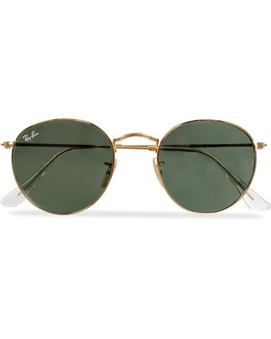Ray-Ban RB3447 Metal Sunglasses Arista/Crystal Green i gruppen Accessoarer / Solglasögon / Runda solglasögon hos Care of Carl (11949710)