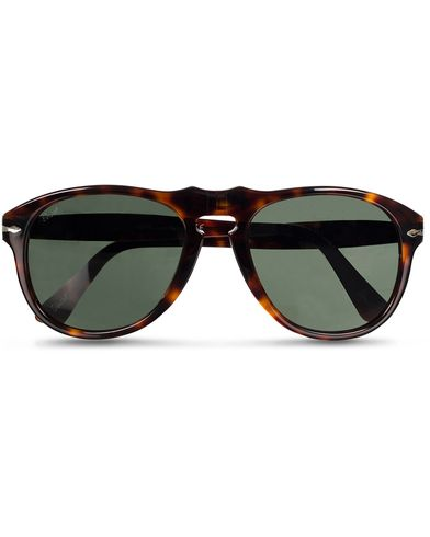Persol PO0649 Sunglasses Havana/Crystal Green  i gruppen Accessoarer hos Care of Carl (11951210)