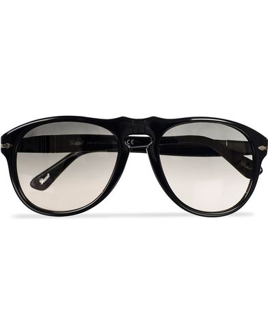 Persol PO0649 Sunglasses Black/Crystal Grey Gradient  i gruppen Solbriller / Buede solbriller hos Care of Carl (11951310)