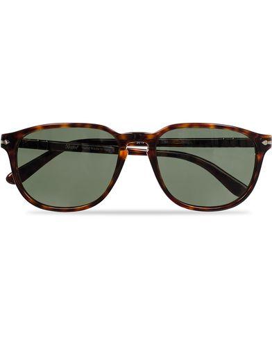 Persol PO3019S Sunglasses Havana/Crystal Green  i gruppen Accessoarer hos Care of Carl (11951610)