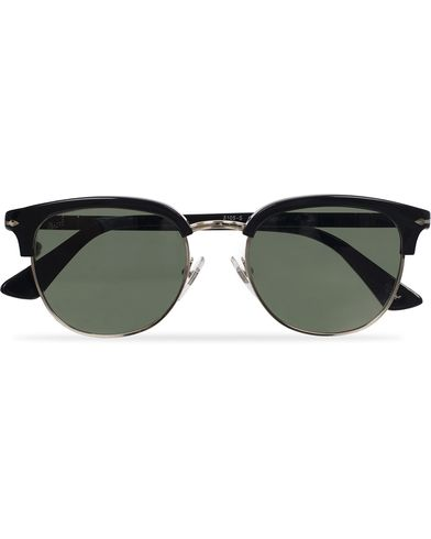 Persol PO3105S Sunglasses Black/Green  i gruppen Solglasögon / D-formade solglasögon hos Care of Carl (11952010)
