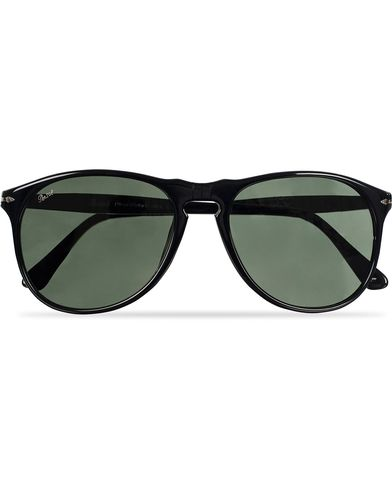 Persol PO9649S Sunglasses Black/Crystal Green  i gruppen Design A / Solbriller / Buede solbriller hos Care of Carl (11952110)