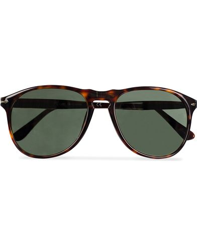 Persol PO9649S Sunglasses Havana/Crystal Green  i gruppen Accessoarer hos Care of Carl (11952210)