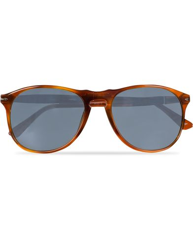 Persol PO9649S Sunglasses Terra Di Siena/Blue  i gruppen Solglasögon / D-formade solglasögon hos Care of Carl (11952310)