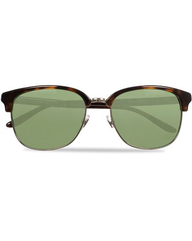 Gucci GG2227S Sunglasses Havana/Green i gruppen Solglasögon / D-formade solglasögon hos Care of Carl (11954410)
