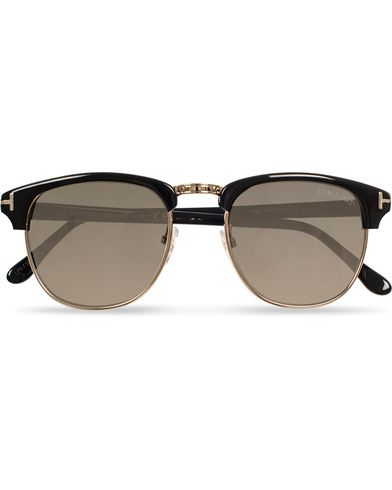 Tom Ford Henry FT0248 Sunglasses Black/Grey i gruppen Solbriller / Buede solbriller hos Care of Carl (11954910)