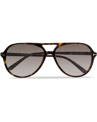 Tom Ford Jared FT0331 Sunglasses Havana/Grey i gruppen Solbriller / Pilotsolbriller hos Care of Carl (11955210)