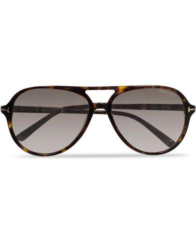 Tom Ford Jared FT0331 Sunglasses Havana/Grey i gruppen Solglasögon / Pilotsolglasögon hos Care of Carl (11955210)