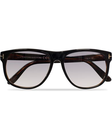 Tom Ford Oliver FT0236 Sunglasses Black/Grey i gruppen Solbriller / Buede solbriller hos Care of Carl (11955510)