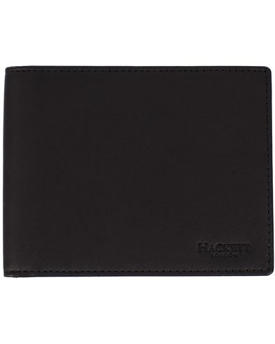 Hackett Union Billfold Wallet Black  i gruppen Design A / Tilbehør / Punge / Almindelige punge hos Care of Carl (11961110)