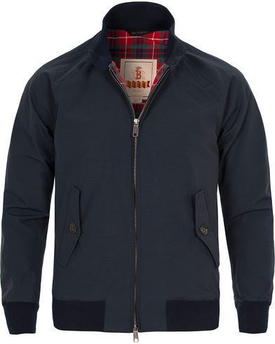 Baracuta G9 Original Harrington Jacket Dark Navy i gruppen Jakker / Tynne Jakker hos Care of Carl (11963211r)