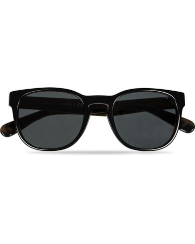 Ralph Lauren Eyewear PH4099 Sunglasses Black on Jerry Tortoise/Grey  i gruppen Solglasögon / D-formade solglasögon hos Care of Carl (11963710)