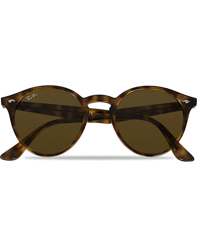Ray-Ban RB2180 Acetat Sunglasses Dark Havana/Dark Brown  i gruppen Solbriller / Runde solbriller hos Care of Carl (11964910)
