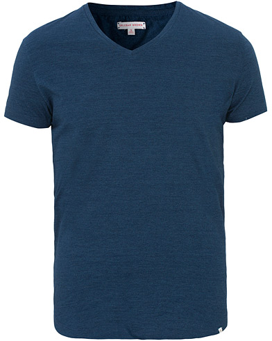 Orlebar Brown Bobby T-shirt Denim Pigment i gruppen Klær / T-Shirts / Kortermede t-shirts hos Care of Carl (11968711r)