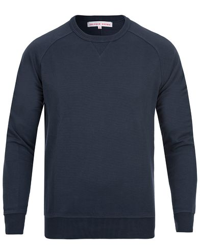 Orlebar Brown Fulton Sweatshirt Navy i gruppen Tröjor / Sweatshirts hos Care of Carl (11969211r)