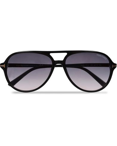 Tom Ford Jared FT0331 Sunglasses Black/Gradient Grey  i gruppen Assesoarer hos Care of Carl (11969510)