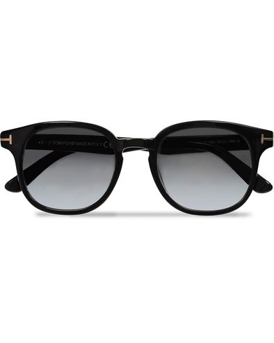 Tom Ford Frank FT0399 Sunglasses Black/Gradient Grey  i gruppen Solbriller hos Care of Carl (11969610)