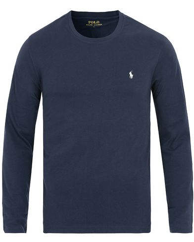 Polo Ralph Lauren Long Sleeve Tee Cruise Navy i gruppen Design A / Undertøj / Nattøj / Pyjamastrøjer hos Care of Carl (11969911r)