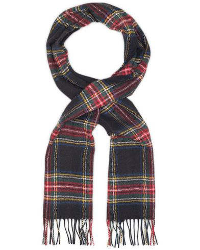 Gloverall Scarf  Royal Stewart Black  i gruppen Accessoarer / Halsdukar hos Care of Carl (11980810)