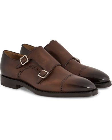 BALLY Scardino Monkstrap Brown i gruppen Sko / Munkesko hos Care of Carl (11992811r)