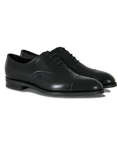Edward Green Chelsea Oxford Black Calf i gruppen Sko / Oxfords hos Care of Carl (12003211r)